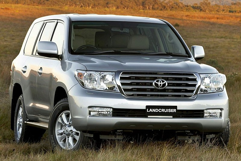 New Toyota LandCruiser at Sydney Motorshow