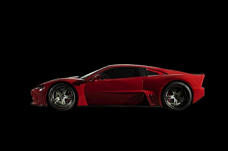 New American supercar Falcon presented by Mach7 Motorsports