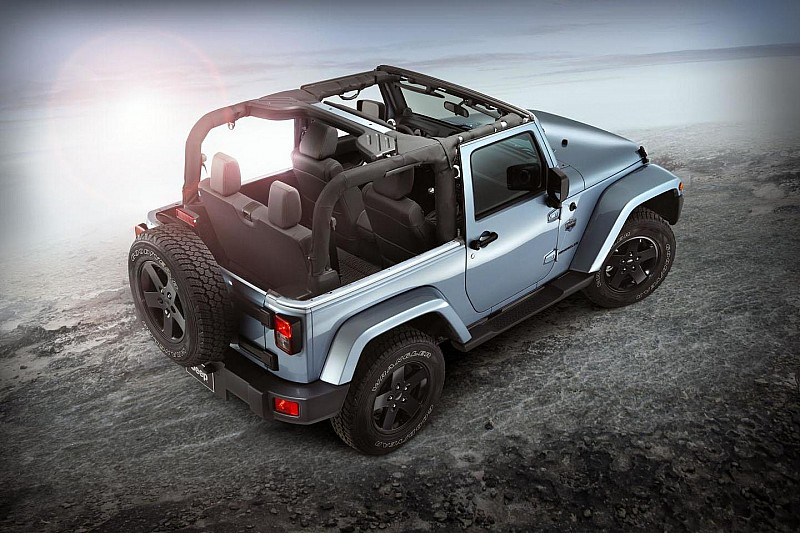 Jeep Wrangler Arctic revealed