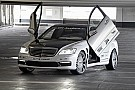 Mercedes S65 AMG with wing doors and viny wrap is an automotive faux pas?