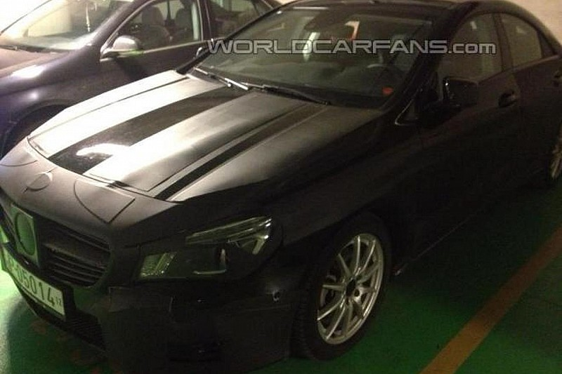 Mercedes-Benz CLA spied up close by WCF reader