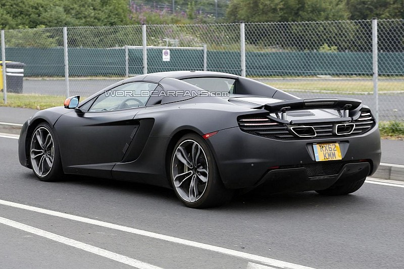 McLaren MP4-12C prototypes actually P13 mules - report