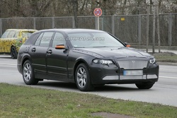 BMW 5-series Touring Prototype Spy Photo
