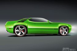 Plymouth Road Runner Concept artists rendering