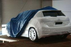 Lexus LF-Ch possible production version spy photo - 640 - 19.01.2010