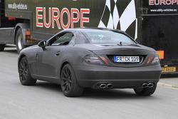 2012 Mercedes Benz SLK 63 AMG prototype spy photo