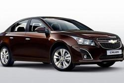 2013 Chevrolet Cruze sedan facelift