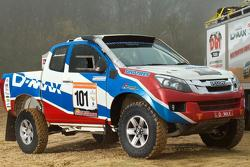 Isuzu D-max for 2013 Dakar Rally