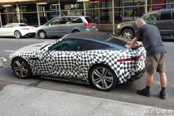 Jaguar F-Type Coupe spy photo 09.07.2013