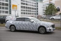 Possible Mercedes-Maybach E-Class makes spy photo premiere (19 pics)