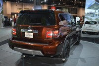2017 Nissan Armada patrols Chicago Auto Show